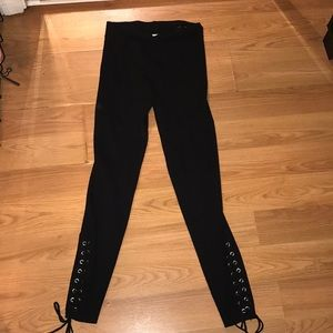 Zara knit collection leggings